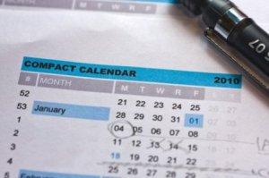 compact calendar
