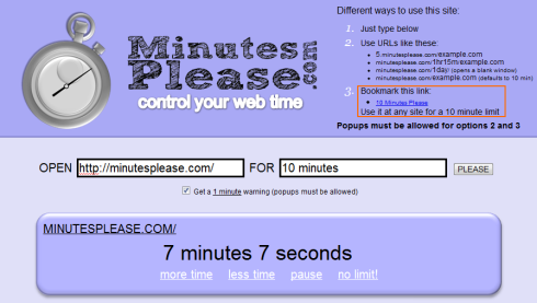 minutesplease
